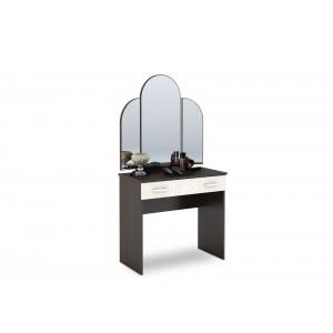"""Туалетный стол """"Бася СТ-551 М"""" с зеркалом (венге)"""