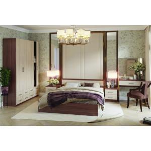 """Кровать """"Гармония КР-609"""" 1,2 м (шимо)"""