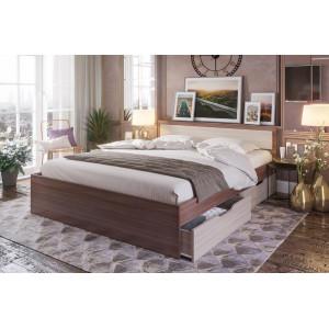 """Кровать """"Гармония КР-604"""" 1,6 м (шимо)"""