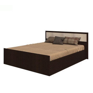 """Кровать """"Фиеста"""" 1,4 м (венге)"""