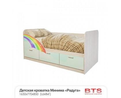 """Детская кровать """"Минима Радуга"""""""