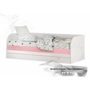 """Детская кровать """"Трио Принцесса"""""""