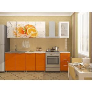 "Кухня ""Апельсин"" 2 м"