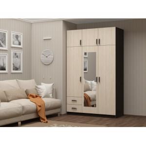 Шкаф 3-х створчатый (венге/белфорд)