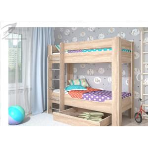 """Детская кровать """"Мийа"""" 2-х ярусная"""