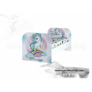 """Детская кровать """"Тойз"""" КР-08 принцесса"""