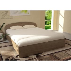 Кровать Ясень шимо темный 1,2 м