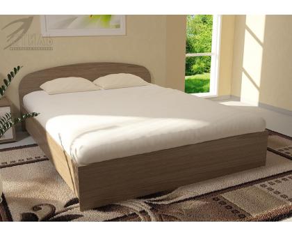 Кровать Ясень шимо темный 1,6 м